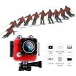 Экшн камера CS4K-red - Фото №3
