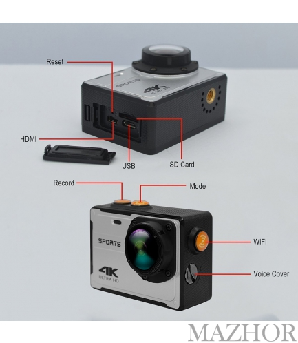 Экшн камеры DV16MP-silver - Фото №1