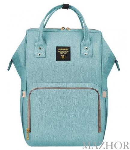Рюкзак для мамы Sunveno Diaper Bag Green NB22179.GRN - Фото №1