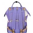 Рюкзак для мамы Sunveno Diaper Bag Blue Purple NB22179.BPL - Фото №3