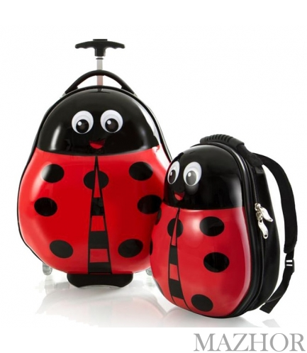 Чемодан + Рюкзак Heys TRAVEL TOTS/Lady Bug He13030-3087-00 - Фото №1