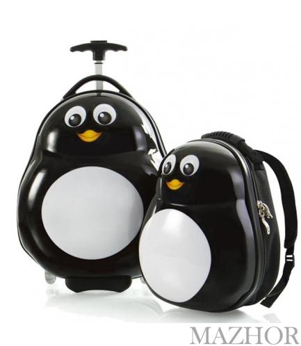 Чемодан + Рюкзак Heys TRAVEL TOTS/Penguin He13030-3088-00 - Фото №1