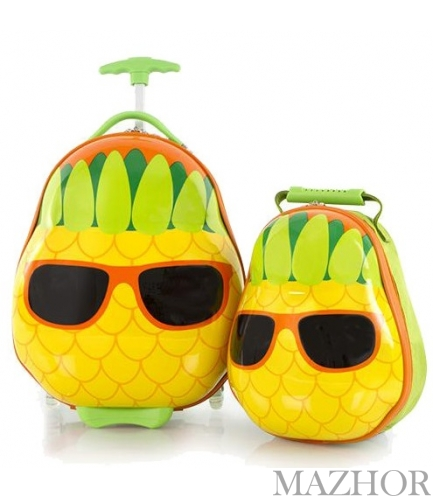 Чемодан + Рюкзак Heys TRAVEL TOTS/Pineapple He13030-3198-00 - Фото №1