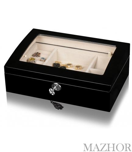 Шкатулка для украшений и хранения часов Rothenschild RS-TG506BC - Фото №1