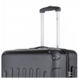 Чемодан TravelZ Light (L) Black 927240 - Фото №5