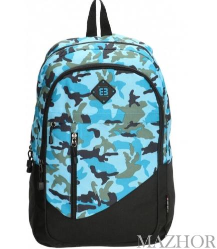 Рюкзак для ноутбука Enrico Benetti LA CORUNA/Blue Camouflage Eb62039 983 - Фото №1