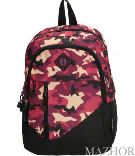 Рюкзак для ноутбука Enrico Benetti LA CORUNA/Cherry Camouflage Eb62040 984 - Фото №1