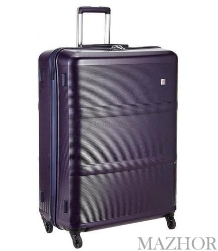 Чемодан на 4 колесах Echolac Elise Purple фиолетовый большой EcPC094-401-17 - Фото №1