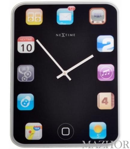 Часы настенные NeXtime Mini Wall Pad 5181 - Фото №1