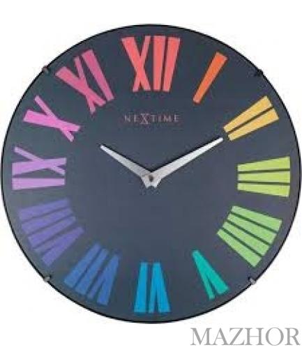 Часы настенные с бесшумным ходом NeXtime Roman Dome  3237KL - Фото №1