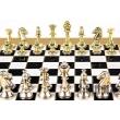 Шахматы Manopoulos  Классические фигуры S32BLA - Фото №4