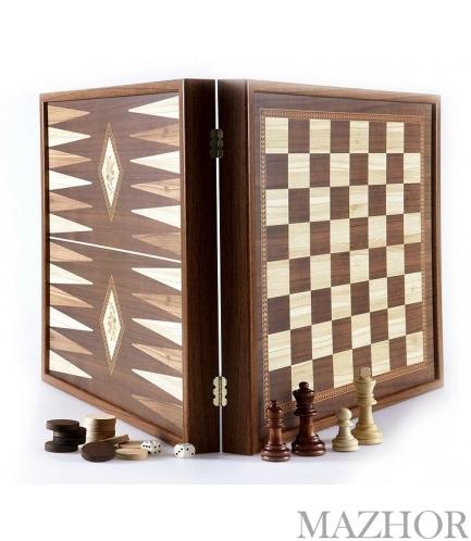 Шахматы + Нарды Manopoulos  STP28E - Фото №1
