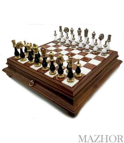 Шахматы Italfama 142BN+419AW - Фото №1