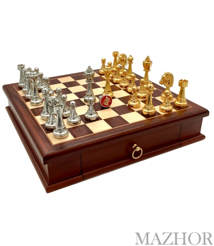 Шахматы Italfama 70G+333W - Фото №1