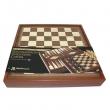 Шахматы + нарды + Шашки 3 в 1 Manopoulos 088-3601STP - Фото №2