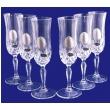 Набор хрустальных бокалов для шампанского Suggest 197-0013 - Фото №3