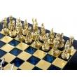 Шахматы Manopoulos S15BLU - Фото №5