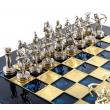 Шахматы Manopoulos S15BLU - Фото №2