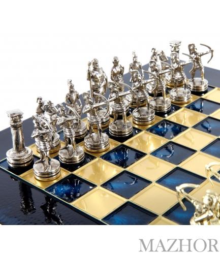 Шахматы Manopoulos S15BLU - Фото №1