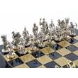 Шахматы Manopoulos S10BLU - Фото №4