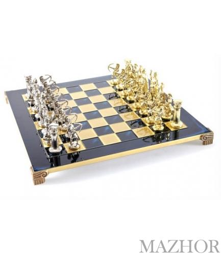 Шахматы Manopoulos S10BLU - Фото №1