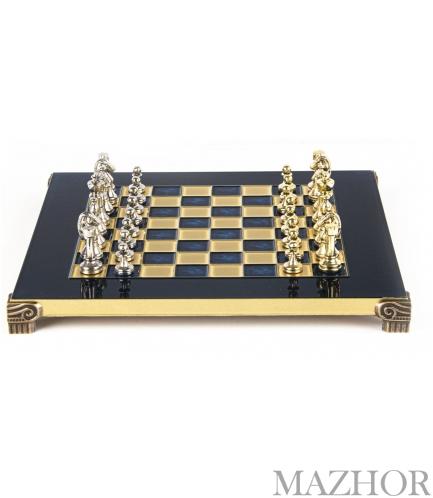 Шахматы Manopoulos S32BLU - Фото №1