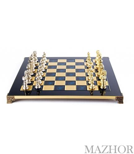 Шахматы Manopoulos S33BLU - Фото №1