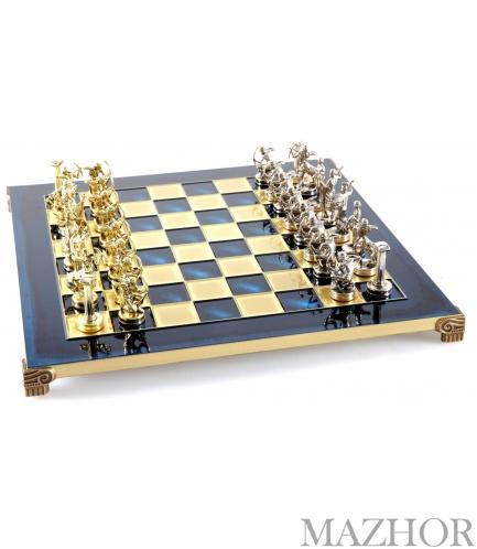 Шахматы Manopoulos S5BLU - Фото №1