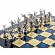 Шахматы Manopoulos S5BLU - Фото №3