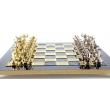Шахматы Manopoulos S5BLU - Фото №4
