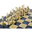 Шахматы Manopoulos S5BLU - Фото №5