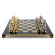 Шахматы Manopoulos S12BLU - Фото №2