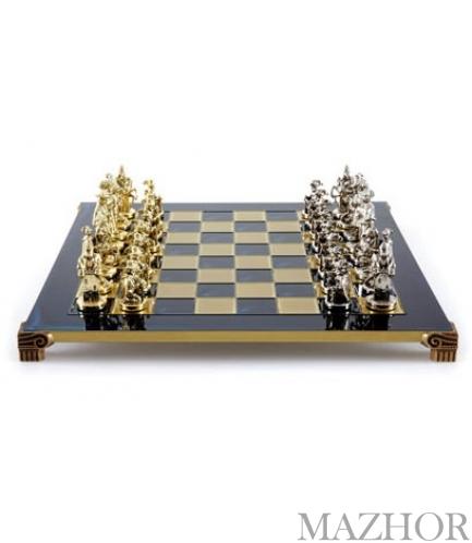 Шахматы Manopoulos S12BLU - Фото №1