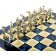 Шахматы Manopoulos S18BLU - Фото №3
