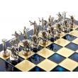 Шахматы Manopoulos S18BLU - Фото №5