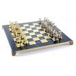 Шахматы Manopoulos S18BLU - Фото №2