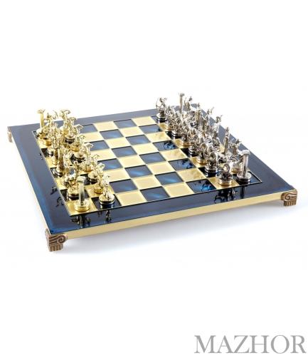 Шахматы Manopoulos S18BLU - Фото №1