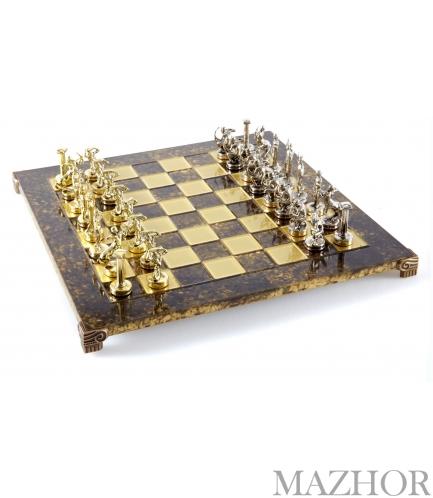 Шахматы Manopoulos S18BRO - Фото №1