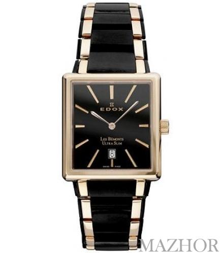 Часы EDOX Les Bemonts 27031 357RN NIR - Фото №1