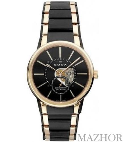 Часы EDOX Les Bemonts 72011 357RN NIR - Фото №1