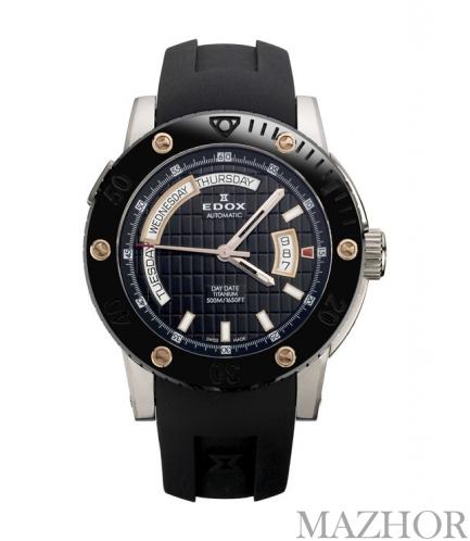 Часы EDOX Class 1 Titanium 83005 TINR NIR - Фото №1