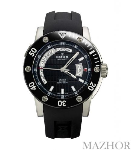 Часы EDOX Class 1 Titanium 83005 TIN NIN - Фото №1