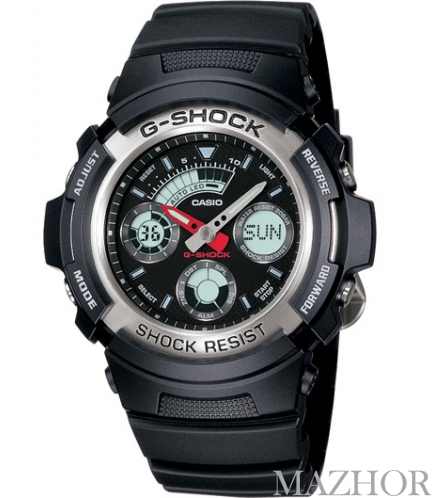 Часы Casio G-Shock AW-590-1AER - Фото №1