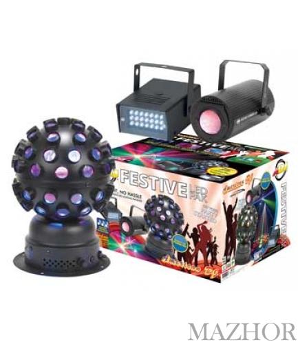 Комплект светоприборов American DJ Festive LED Pak - Фото №1