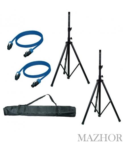 Стойка для акустических систем AMERICAN AUDIO Set - SAS01;2 - Фото №1