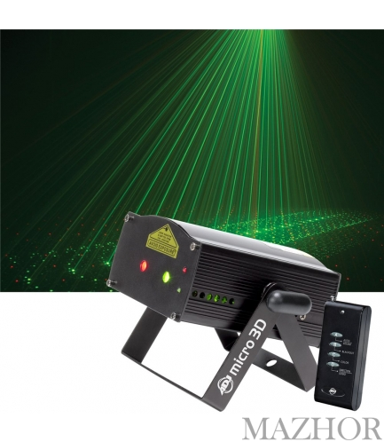 Светоприбор American DJ Micro 3D - Фото №1